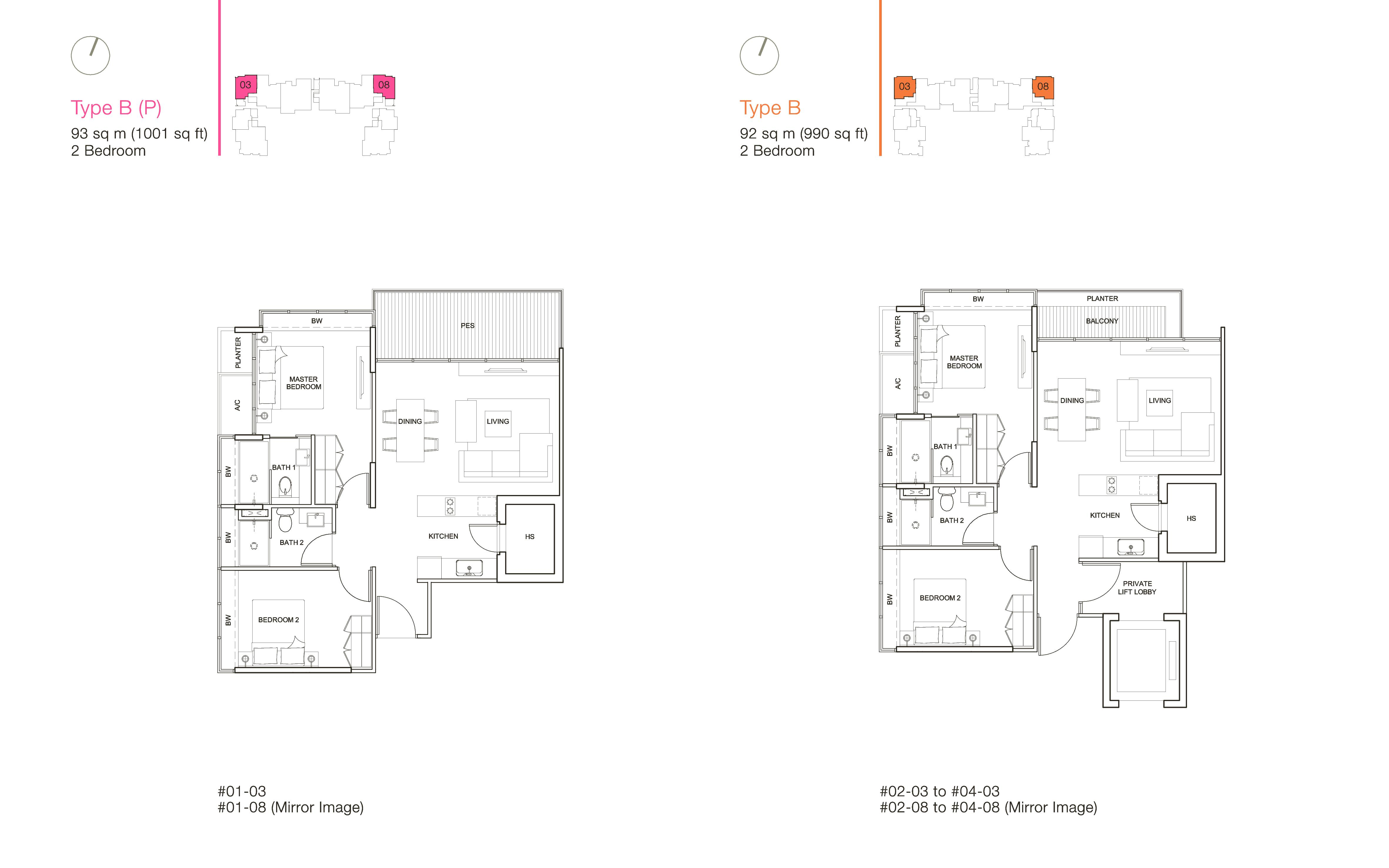 ola residences floor plan